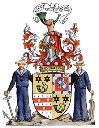 Alan Burns, 4th Baron Inverclyde - Arms of Lord Inverclyde