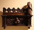 Lorenzo di origgio, frammento di stallo del coro di sant'ambrogio, 1469-71, 01.JPG