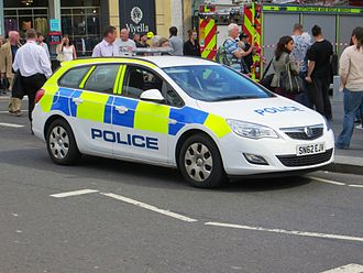 Police Scotland - Police Scotland Vauxhall Astra Estate in Edinburgh