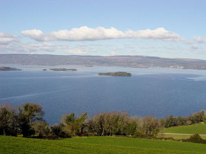 Lough Derg (Shannon) - Image: Lough derg