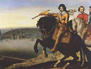 Antoine de Pluvinel - Pluvinel's student, Louis XIII.