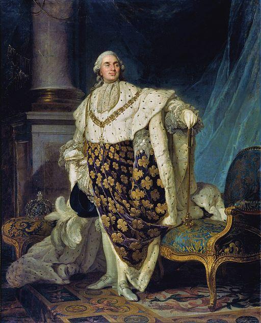 Louis XVI en habit de sacre