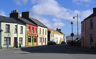 Louisburgh, County Mayo - Louisburgh town centre