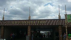 Louisville Zoo - Zoo Entrance