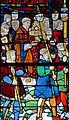 Louviers - Eglise Notre-Dame - Vitrail de la procession des drapiers de Louviers (baie n°26).jpg