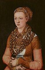Portrait of Anna Buchner, ne Lindacker