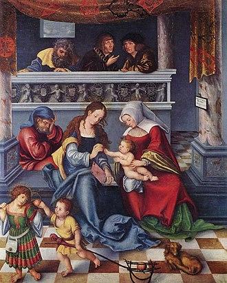 Holy Kinship - Image: Lucas Cranach d. Ä. 065