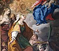 Ludovico mazzanti, madonna col bambino e santa lucia, 03.jpg