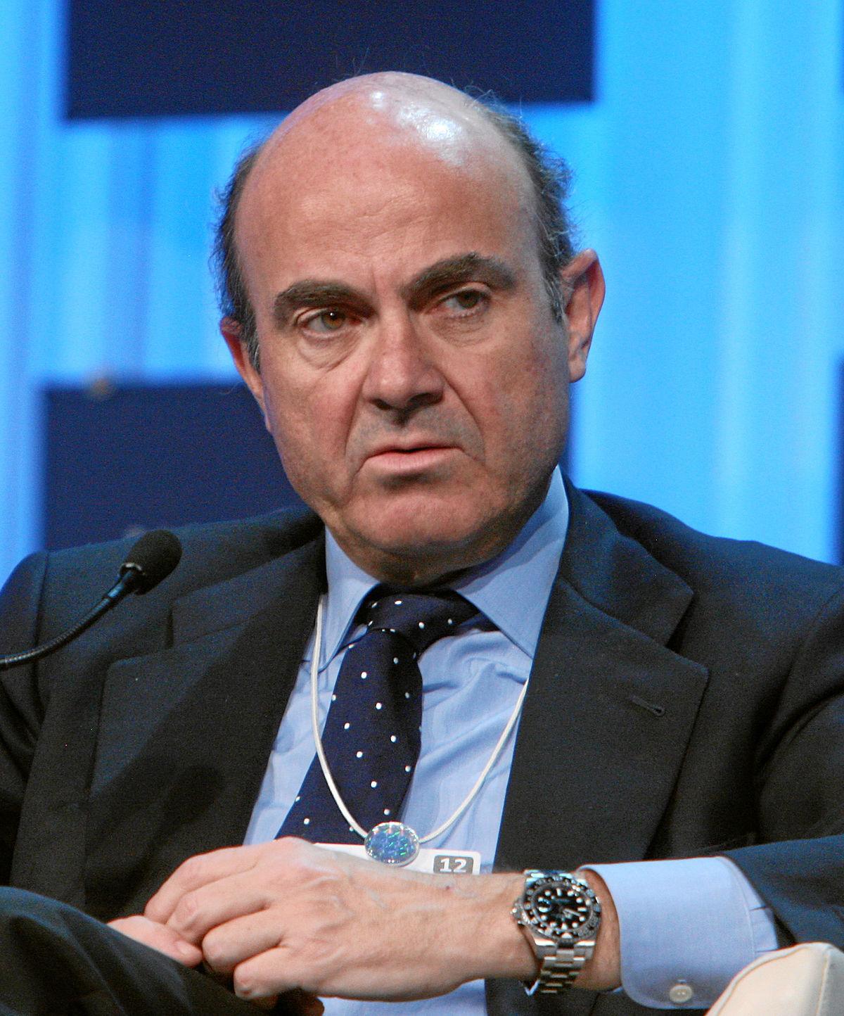 Luis de Guindos - Wikipedia, la enciclopedia libre