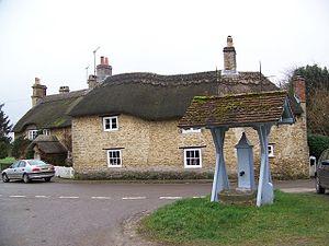 Lullington, Somerset - Village pump