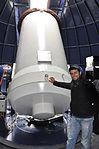 Lunar Laser Ranging at the Observatoire de la Côte d'Azur DSC 0735 (10782479776).jpg