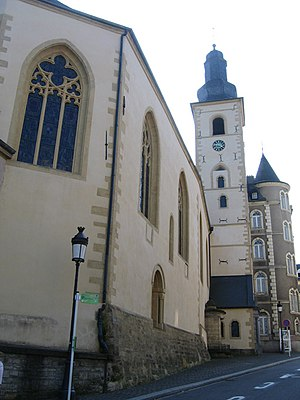 Saint Michael's Church, Luxembourg - Saint Michael's Church stands on the oldest religious site in the city.