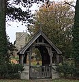 Lychgate, St. Peter's Church, East Halton - geograph.org.uk - 1542125.jpg