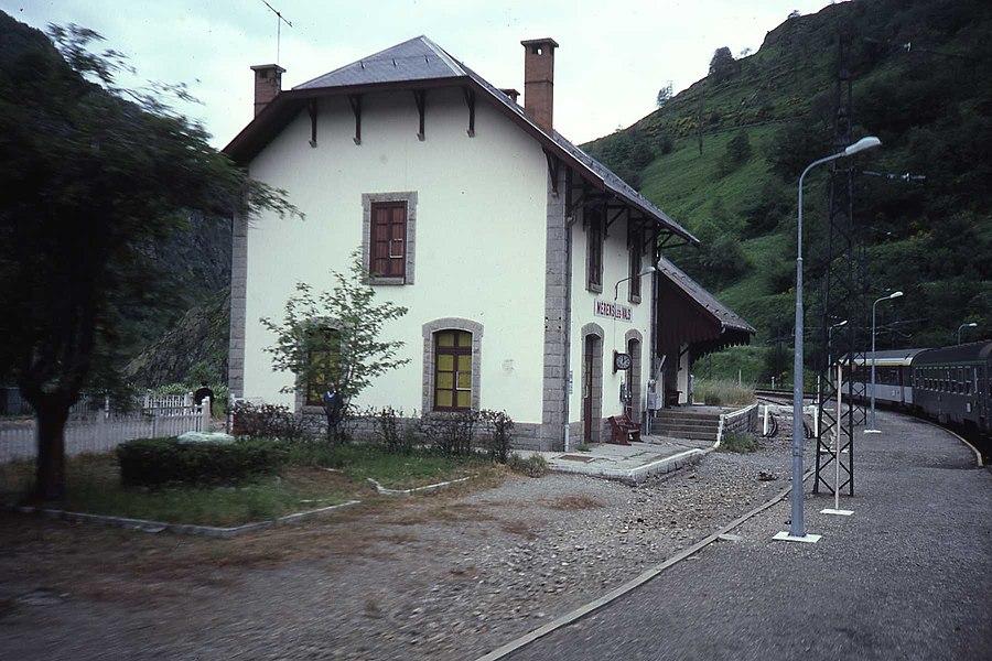 Gare de Mérens-les-Vals