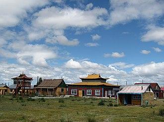 Danzandarjaa Monastery - Danzandarjaa Khiid, partial view