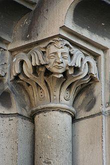 Mülheim-Kärlich St. Mauritius, Glockenturm - Skulptur (2008-10-18).JPG