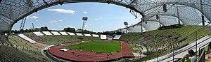 Olympiastadion (Munich) - Image: Münchener Olympiastadion