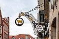 """Münster, Roggenmarkt, Nasenschild des ehemaligen Clubs """"Elephant"""" -- 2021 -- 1788.jpg"""