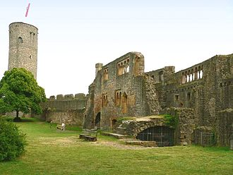 Münzenberg Castle - Image: Münzenberg Palas