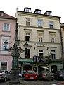Měšťanský dům U Nejsvětější Trojice (Malá Strana), Praha 1, Dražického nám. 4, Malá Strana.JPG