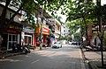 Một phần phố Nguyễn Du, đoạn gần ngã ba phố Nguyễn Du giao với phố Bắc Kinh, thành phố Hải Dương, tỉnh Hải Dương.jpg