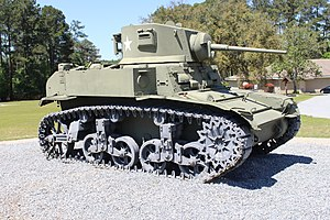 M3A1 General Stuart Light Tank, Georgia Veterans State Park.JPG