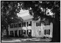 MAIN ELEVATION, DETAIL - Van Doren House, Main Street, Oldwick, Hunterdon County, NJ HABS NJ,10-OLWI,13-3.tif