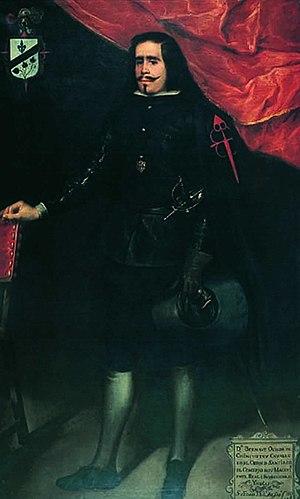 Juan de Alfaro y Gamez - Portrait of Don Bernabe Ochoa Chinchetru by Juan de Alfaro y Gamez, Museo de Bellas Artes de Córdoba, 1661