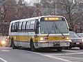MBTA route 86 bus near Harvard Square, February 2017.jpg