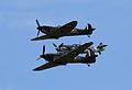 ME 109, Hurricane and Spitfire 02 (4817618159).jpg