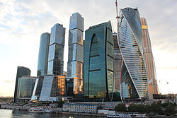 Сити со стороны москвы реки 2014