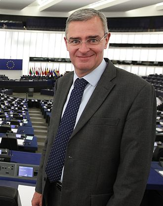 Marc Joulaud - Marc Joulaud in the European Parliament of Strasourg