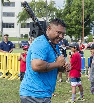 Benny Agbayani - Agbayani at Pearl Harbor in 2015