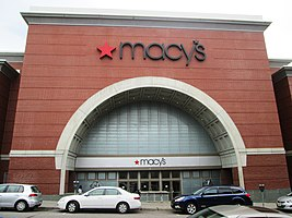 The Entrance To The Macy S In Burlington Vermont