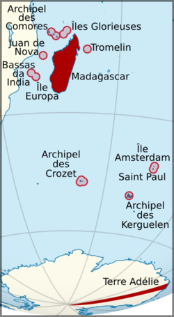 Colony of Madagascar and Dependencies in 1930