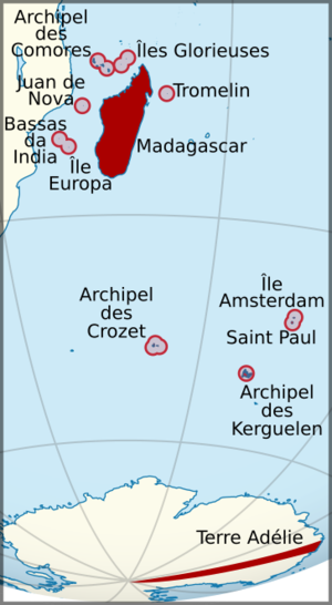 French Madagascar - Image: Madagascar et dependances