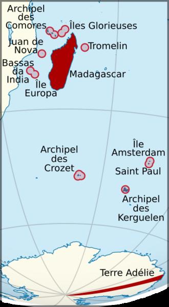 French Madagascar - Image: Madagascar et dependances