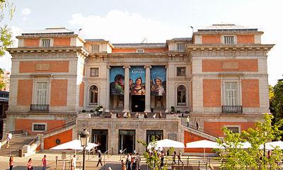 The northern entrance to Prado