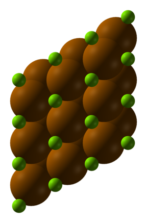 Magnesium polonide - Image: Magnesium polonide xtal 1960 3D SF