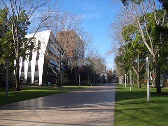 University of New South Wales - Main Walkway, Lower campus