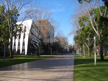Main Walkway, Lower campus Main Walkway, Lower campus UNSW.jpg