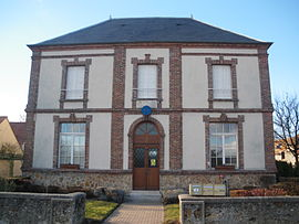 The town hall of Boullay-les-Troux