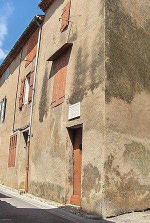 Germain Nouveau - House in Pourrières