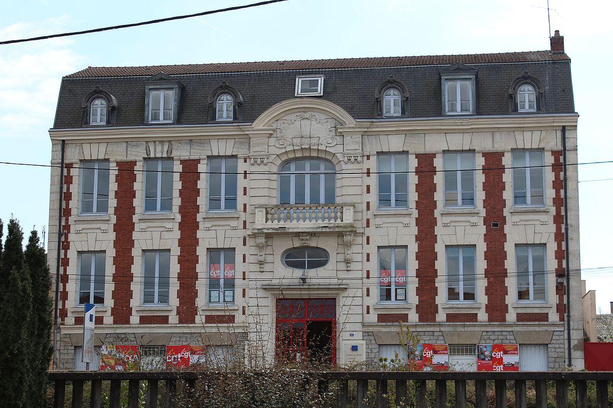 Maison du syndicat des mineurs wikip dia - Office du tourisme montceau les mines ...