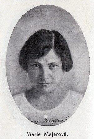 Marie Majerová - Image: Majerova Marie 1923