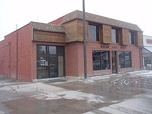 Malad City, Idaho - City Hall in March 2010