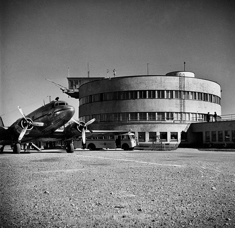 Malmin lentoasema 1949