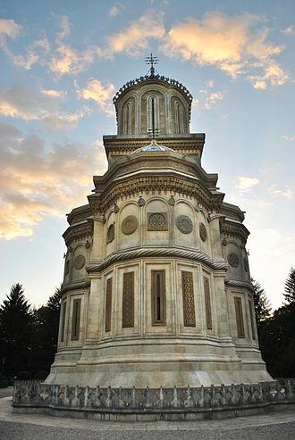 Curtea de Argeș Cathedral - Image: Manastirea Curtea de Arges