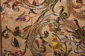 Manifattura forse fiorentina, paliotto della madonna del letto, raso, seta, oro e argento, 1601, da museo del ricamo di pistoia 06 uccelli, bruco, farfalla.jpg