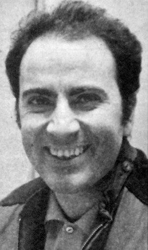 El escritor Manuel Puig